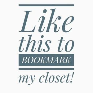 ❤️ Like This Listing To Bookmark My Closet! 👀